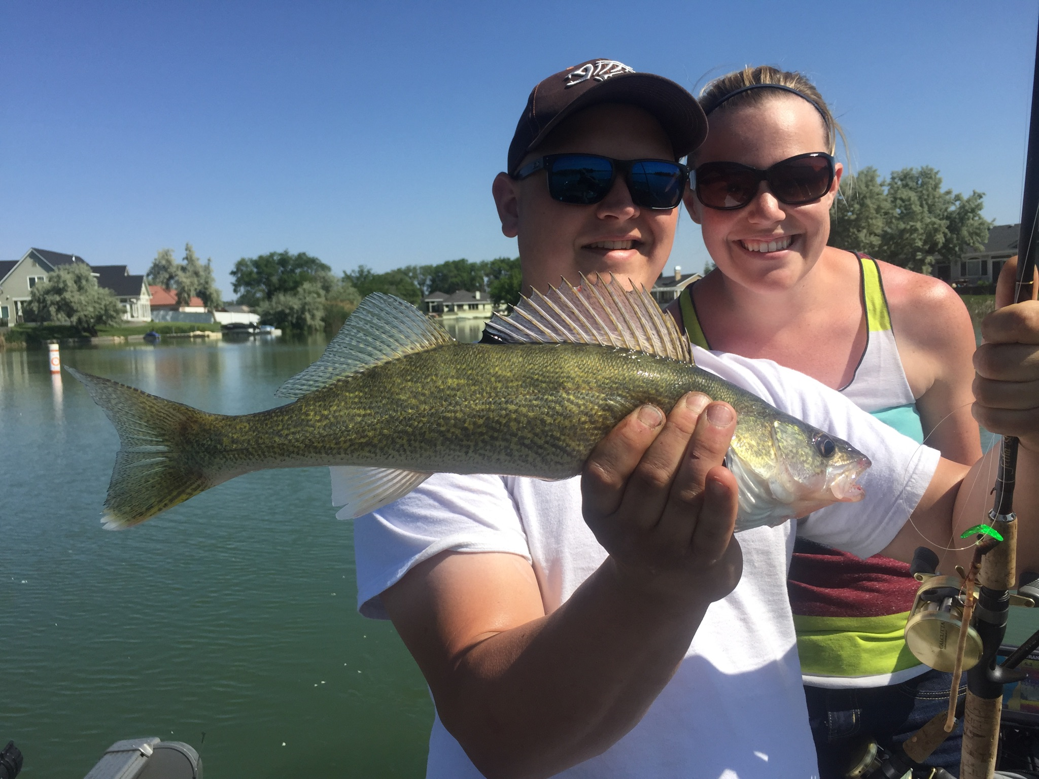 Bj 39 s guide service walleye fishing pictures for Banks lake fishing